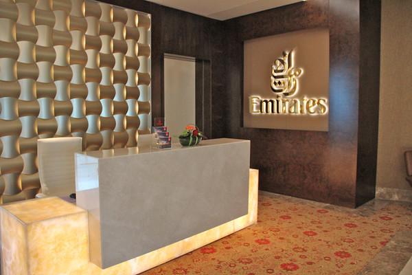New Emirates First Class Lounge Sfo777