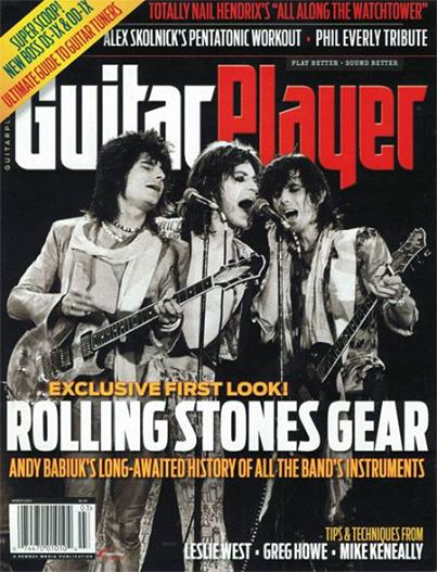 Guitar Player Magazine March 2014