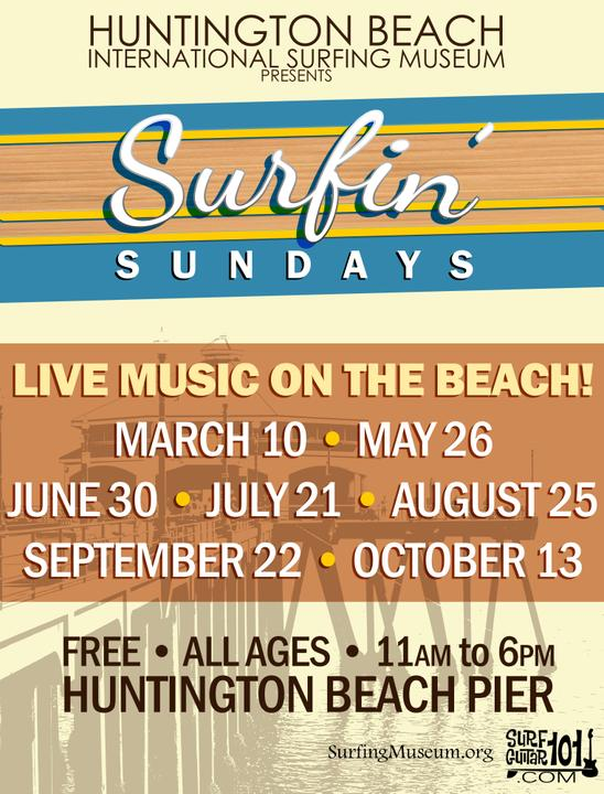 SurfGuitar101 com | Forums: 2019 Dates and Bands for Surfin