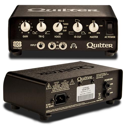 SurfGuitar101 com | Forums: Quilter 101 Mini Head