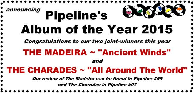 Pipeline Magazine's 2015 Album of the Year