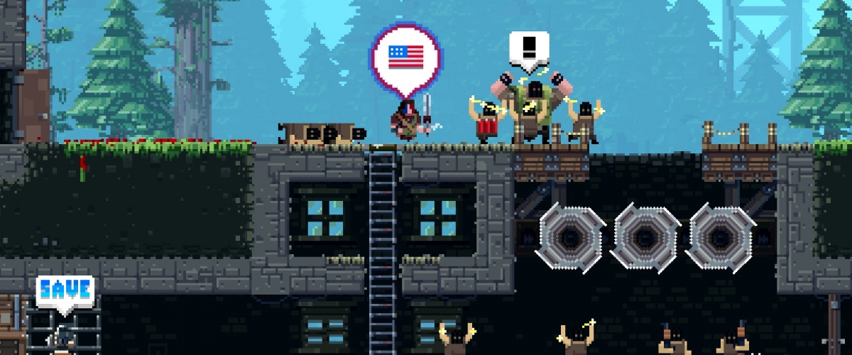 Broforce muscles out of Steam Early Access next week