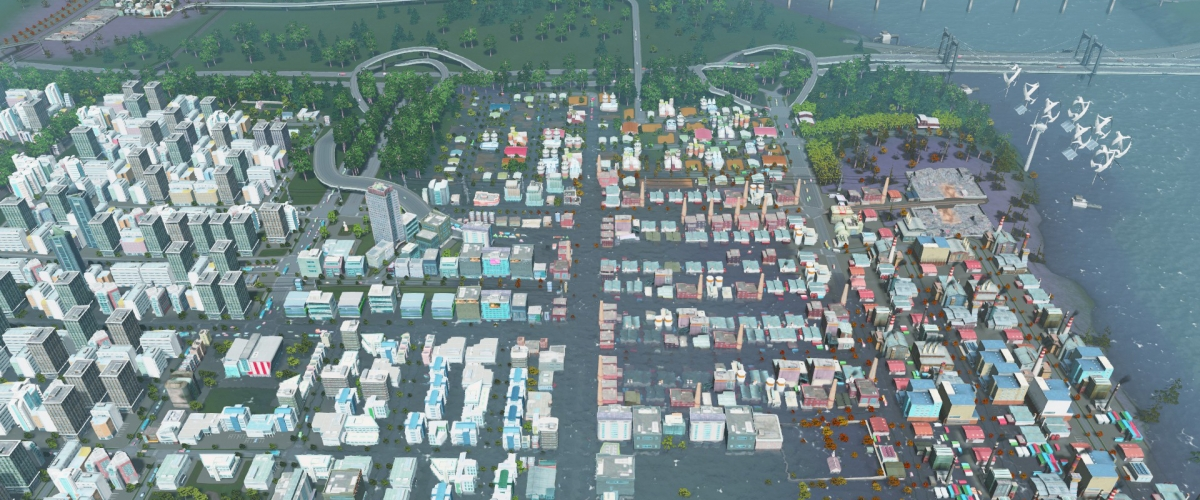 Cities skylines helped couple learn potential home was for Us city skylines photos