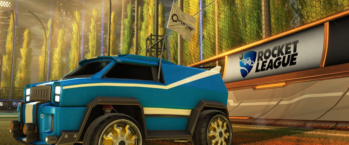 Rocket League gets tested with free Portal items tomorrow ...