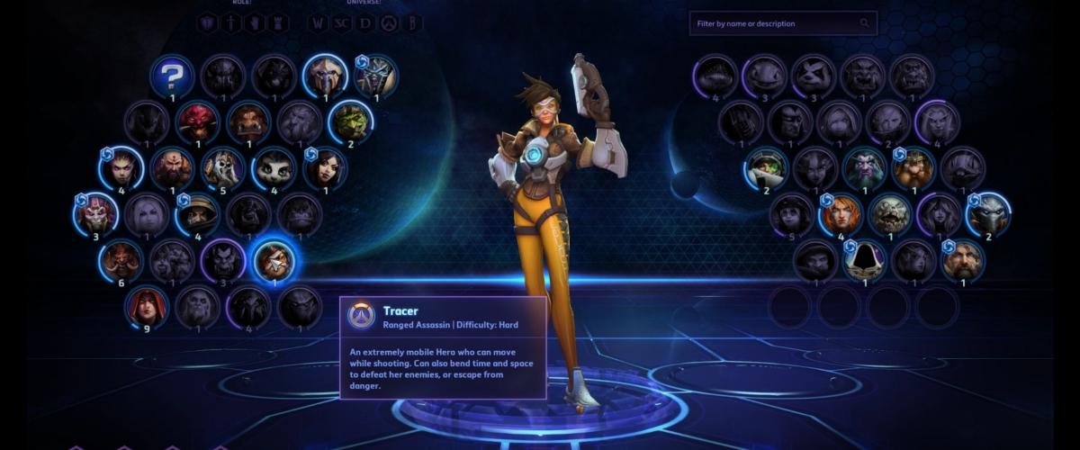 Heroes of the Storm Tracer Hero Gameplay Video | Shacknews