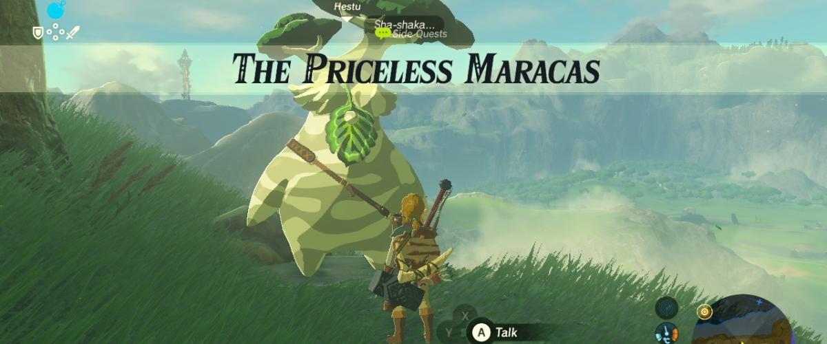 The Legend of Zelda: Breath of the Wild Korok Seed Reward Stinks ...