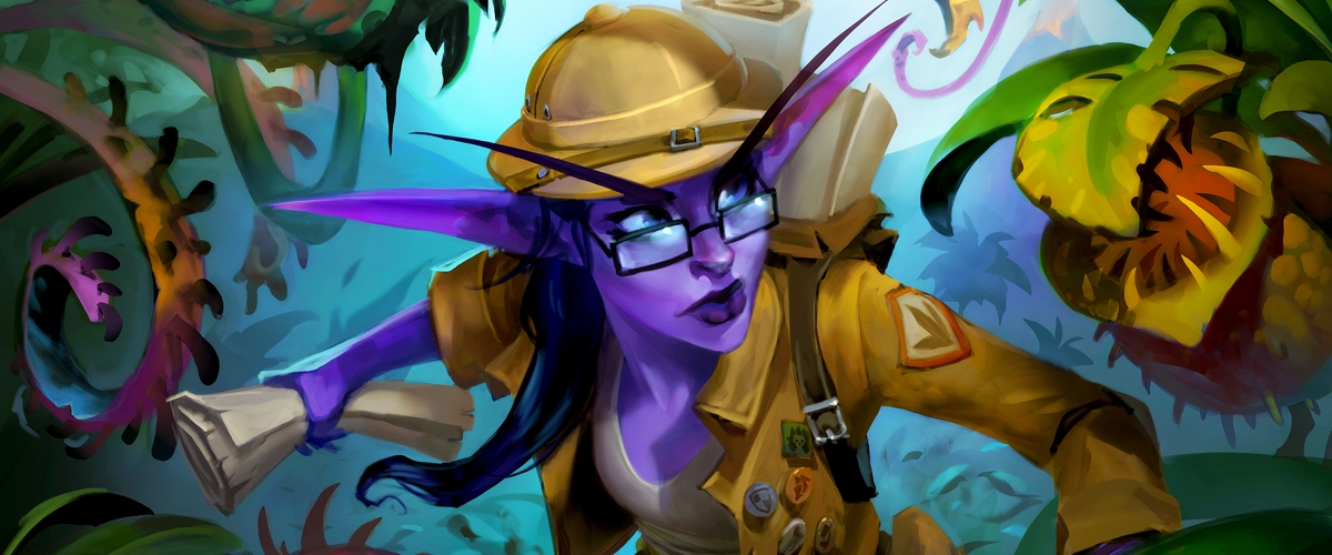 Making a Hearthstone Card: Exploring Un'Goro with Elise ...