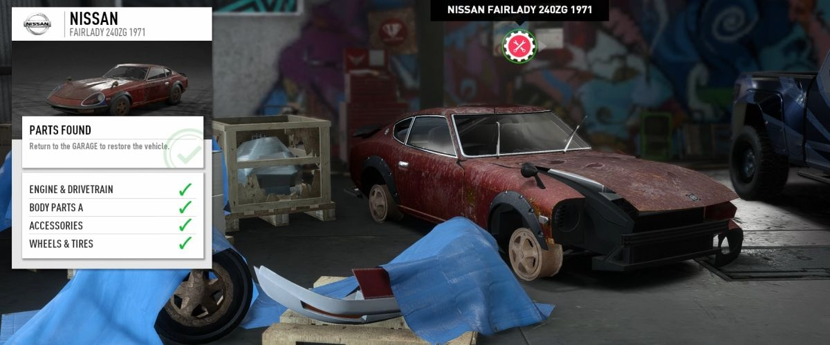 nfs payback how to get derelict back after sale