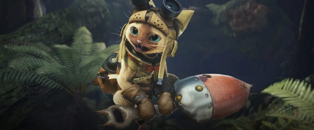 monster hunter world how to change palico gadget