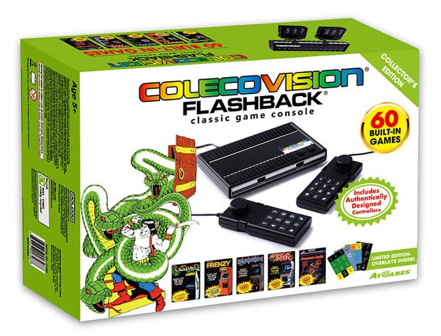 Colecovision primed for a comeback with flashback shacknews - Atari flashback classic game console game list ...
