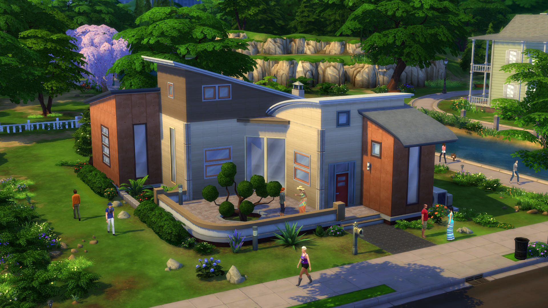 The sims 4 review toying with emotions shacknews Custom build a house online