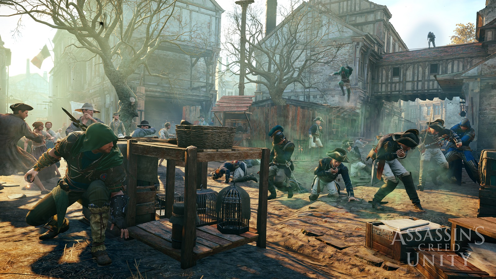 Assassin's Creed Unity co-op preview: silence in numbers ...