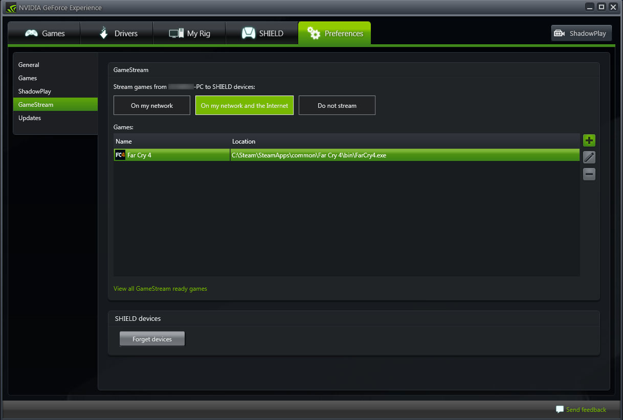 Nvidia Shield How-Tos and Tips: Streaming PC Games