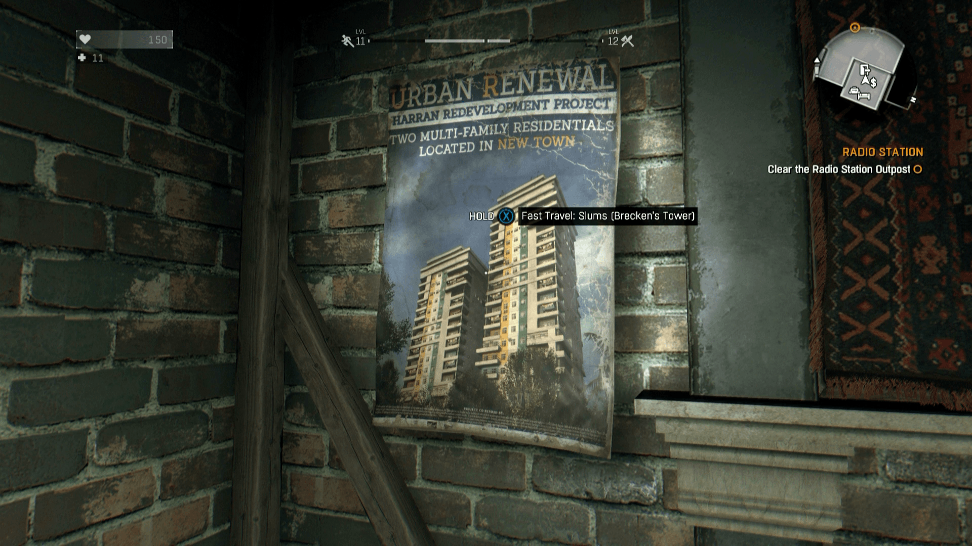 dying light how to make a map