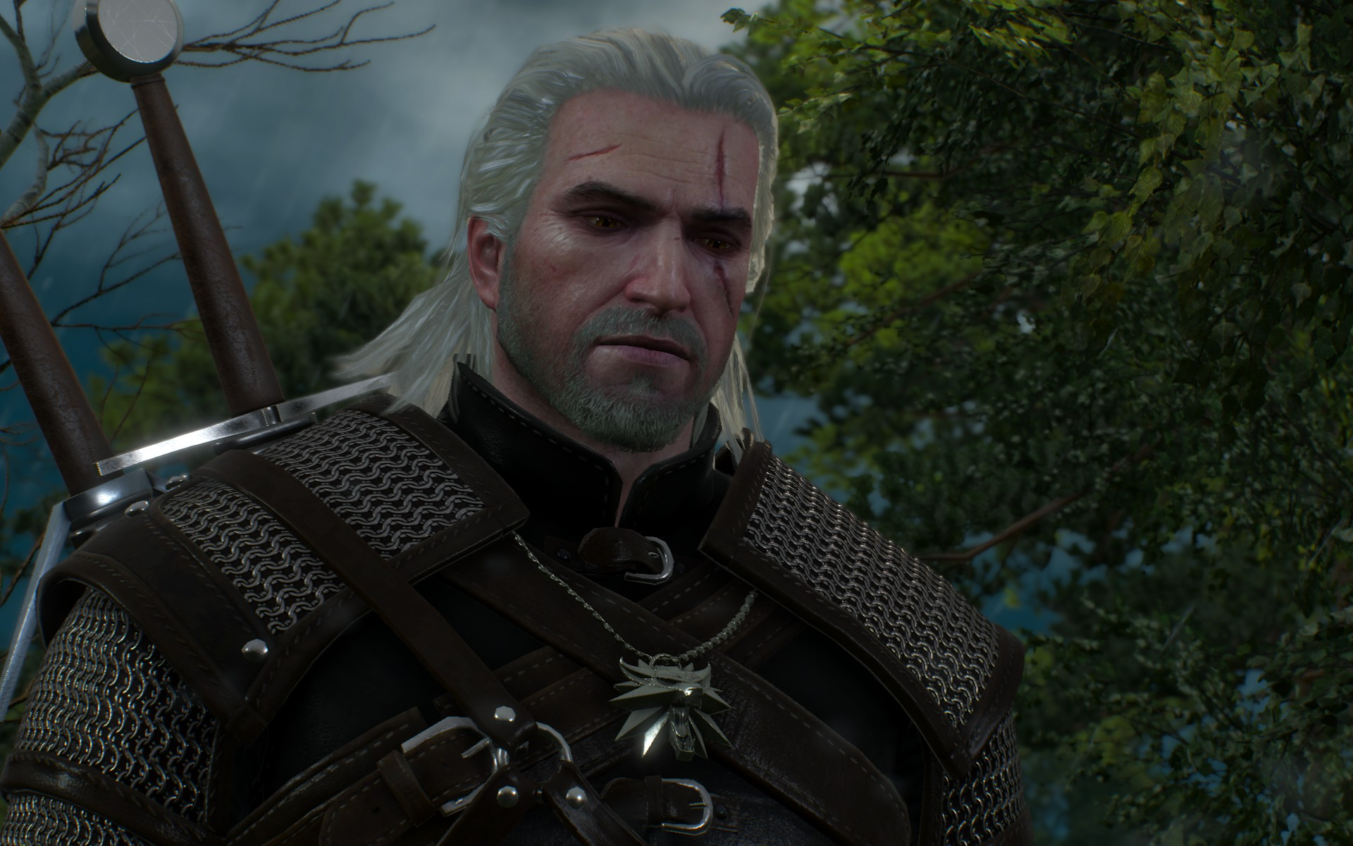 how tall is witcher geralt