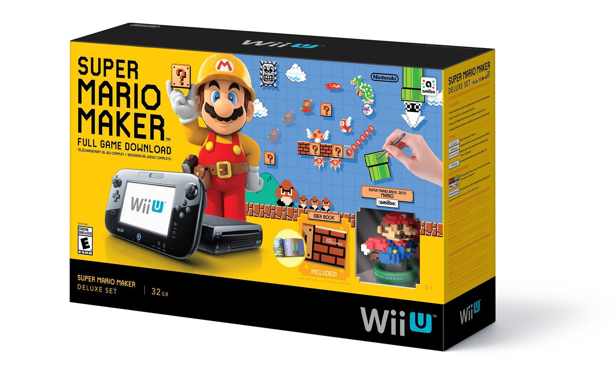 Super Mario Maker Wii U bundle coming to Walmart on September 11 ...