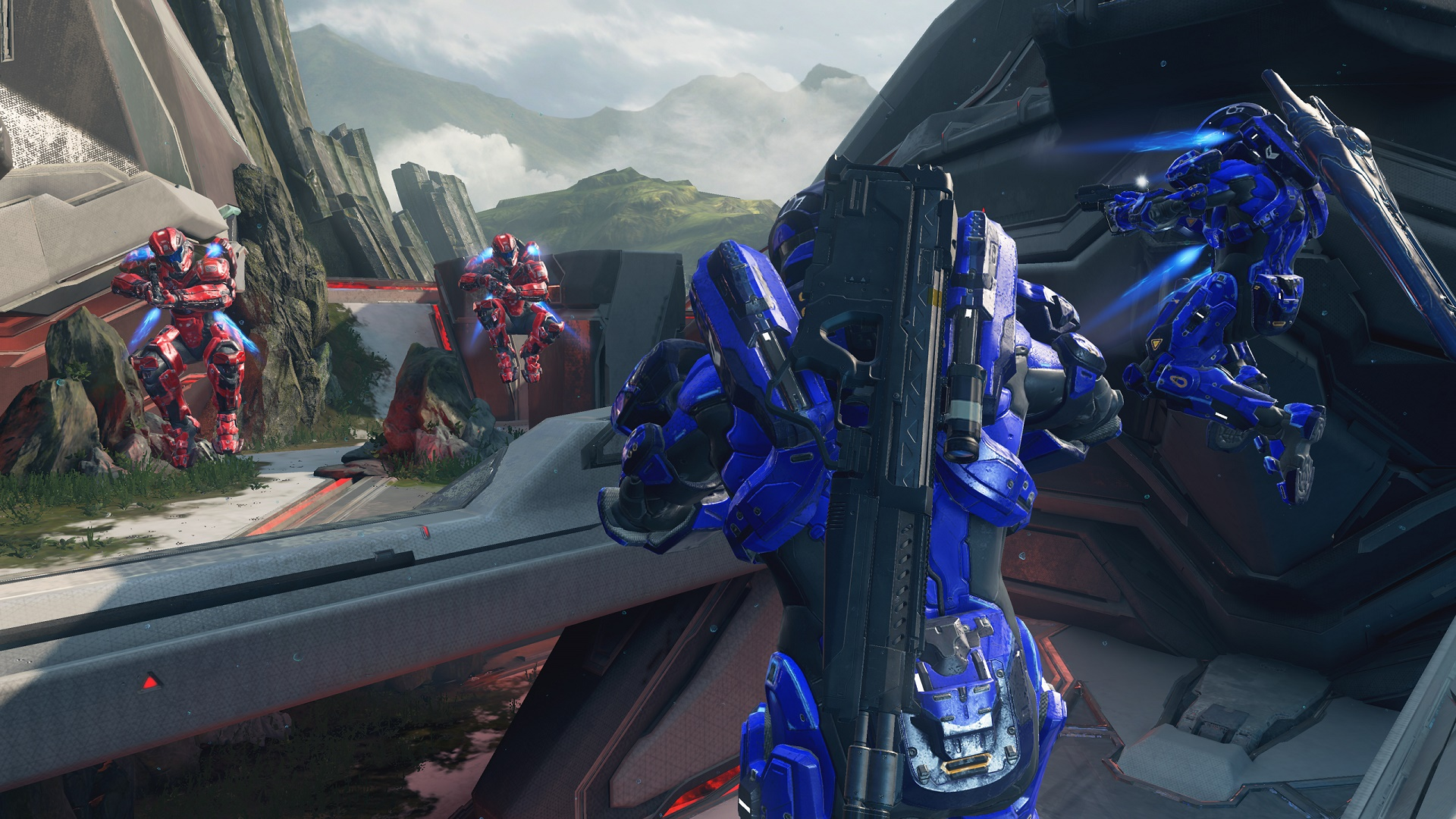 halo 5 guardians arena multiplayer preview spartan