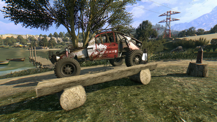 Dying Light Buggy Paint Job Locations