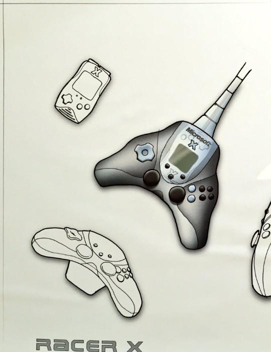 Xbox 720 Controller Design Original Xbox controll...