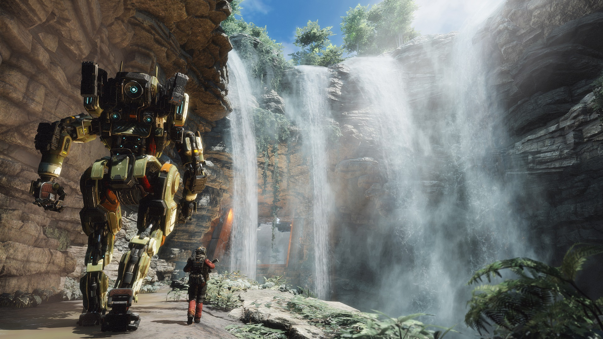 Your robot buddy is the best part of Titanfall 2's single-player