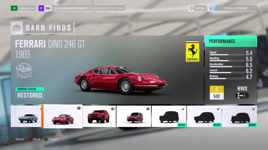 Barn Find 1 Ferrari Dino 246 GT