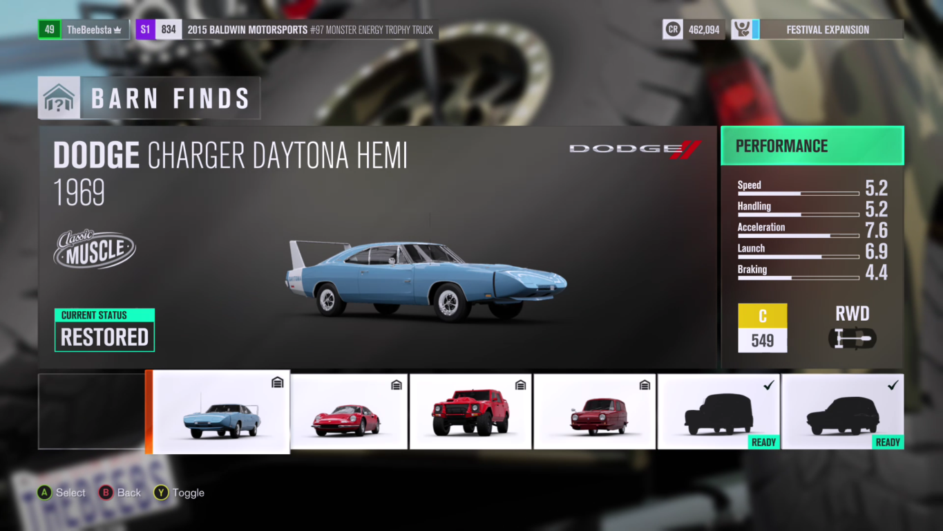 Forza Horizon 3 Barn Finds Guide