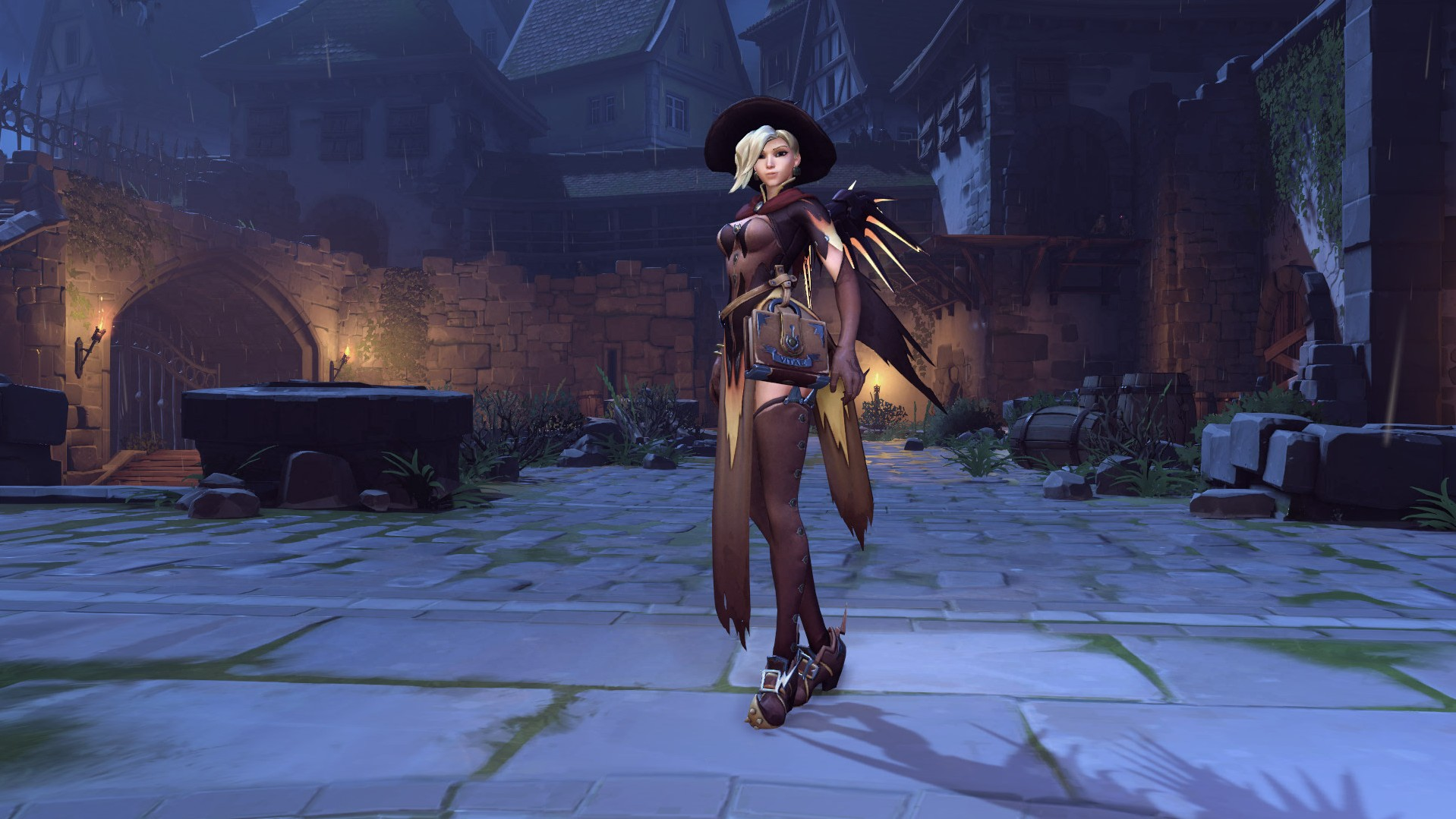 how to get the mercy skin