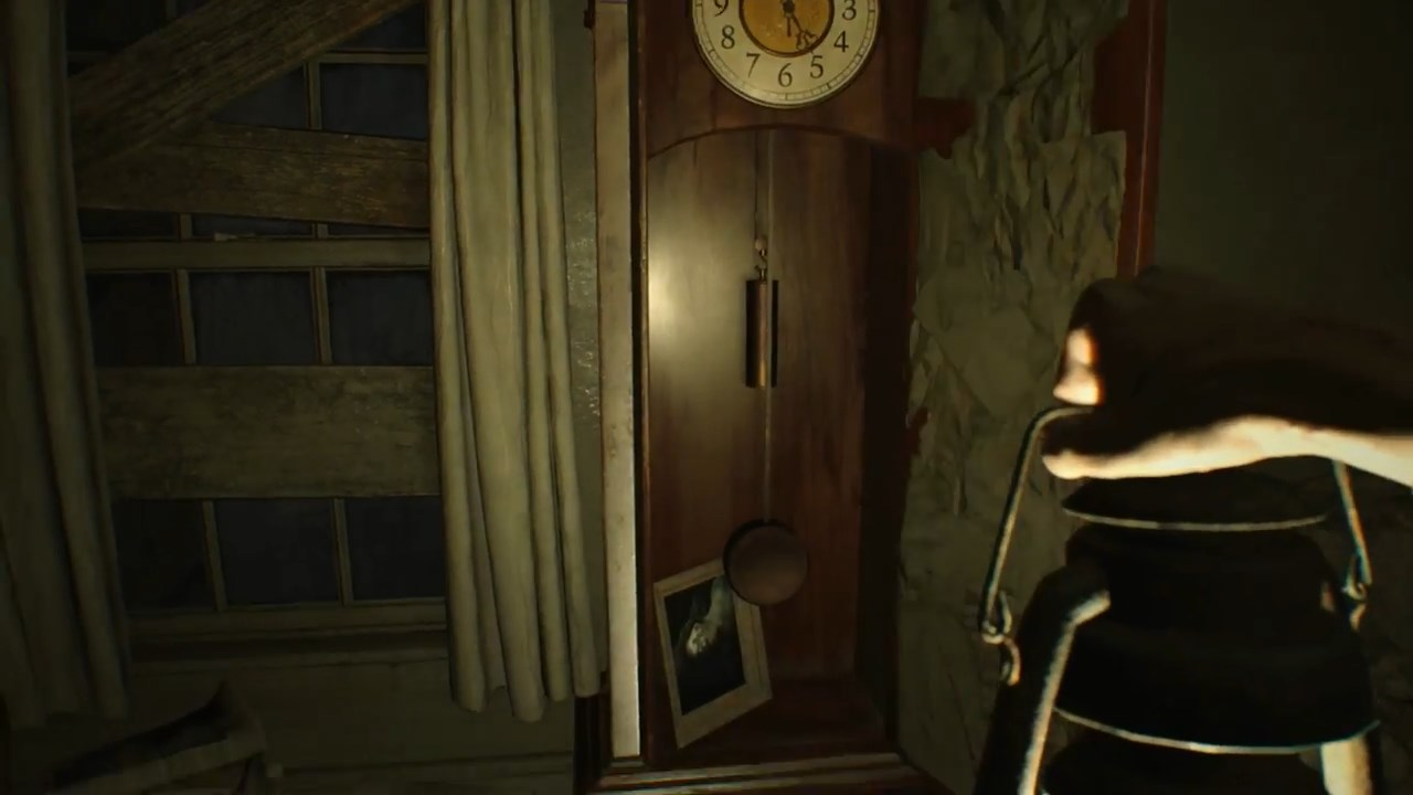 When you take the painting from the grandfather clock it will ding and you\u0027ll hear Marguerite Baker coming to investigate. Close the door on the clock and ... & Resident Evil 7: Banned Footage - How to Solve the Bedroom DLC ...
