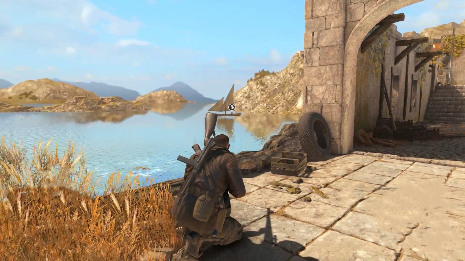 Sniper Elite 4 Find All Stone Eagle Locations Shacknews