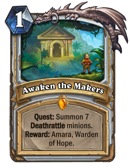Hearthstone Journey To Un Goro Card Reviews Part 1