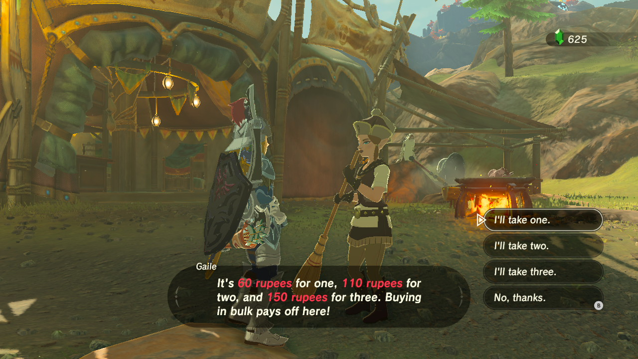zelda breath of the wild how to cool down shacknews