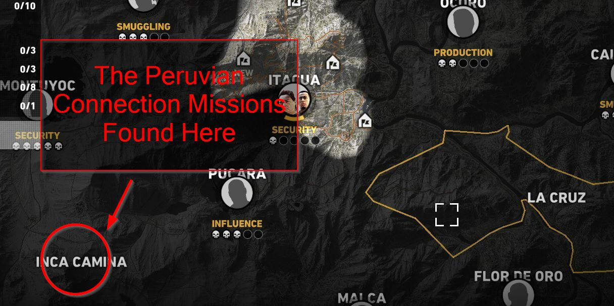 How to Find The Peruvian Connection Mission in Ghost Recon