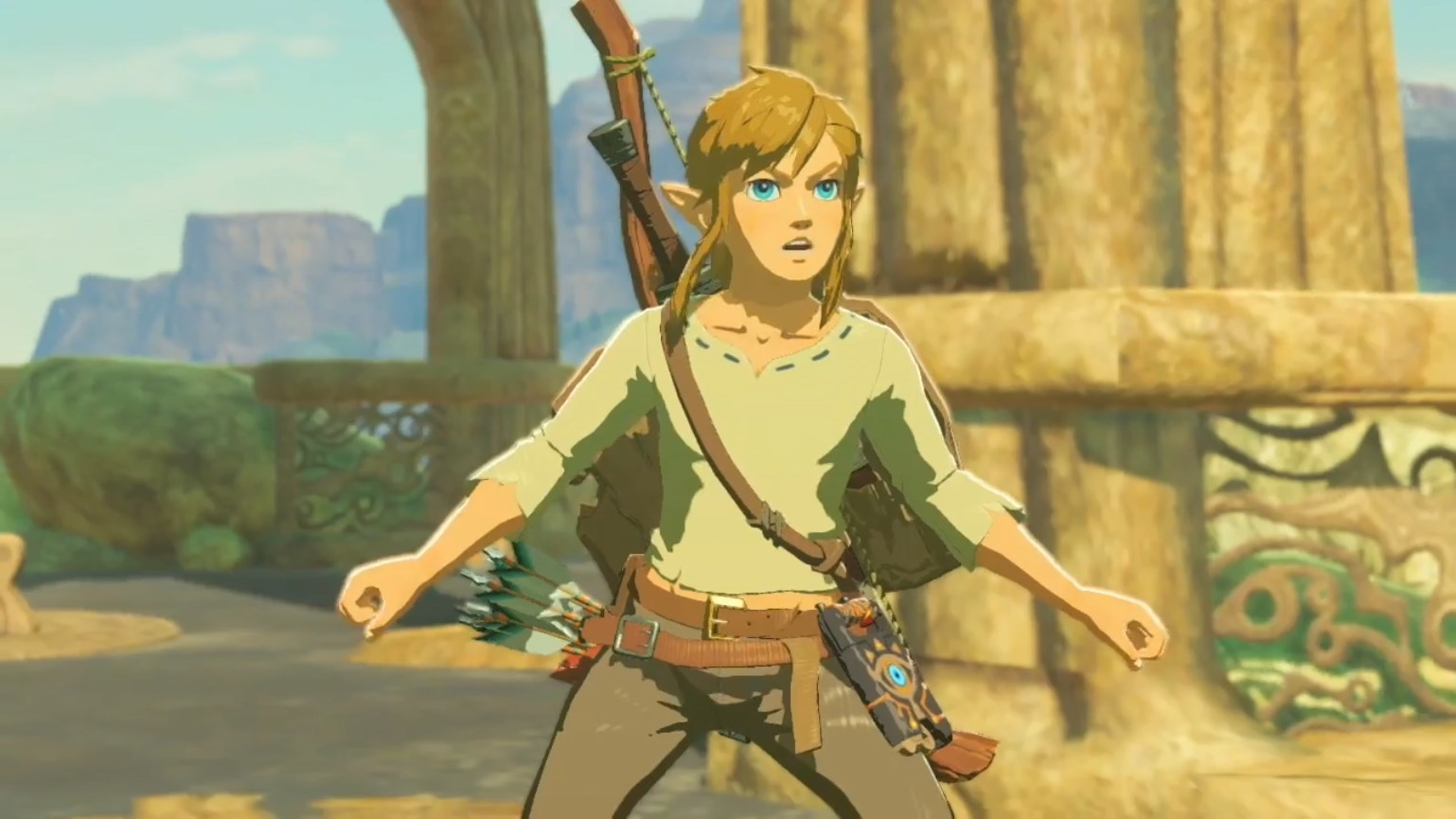 Breath of the Wild: Old Shirt - Orcz.com, The Video Games Wiki