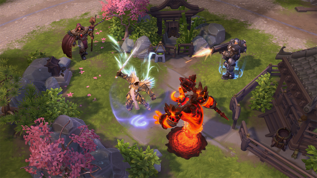 Heroes of the Storm: New Skins for Hanamura Auriel, Zarya, and Genji