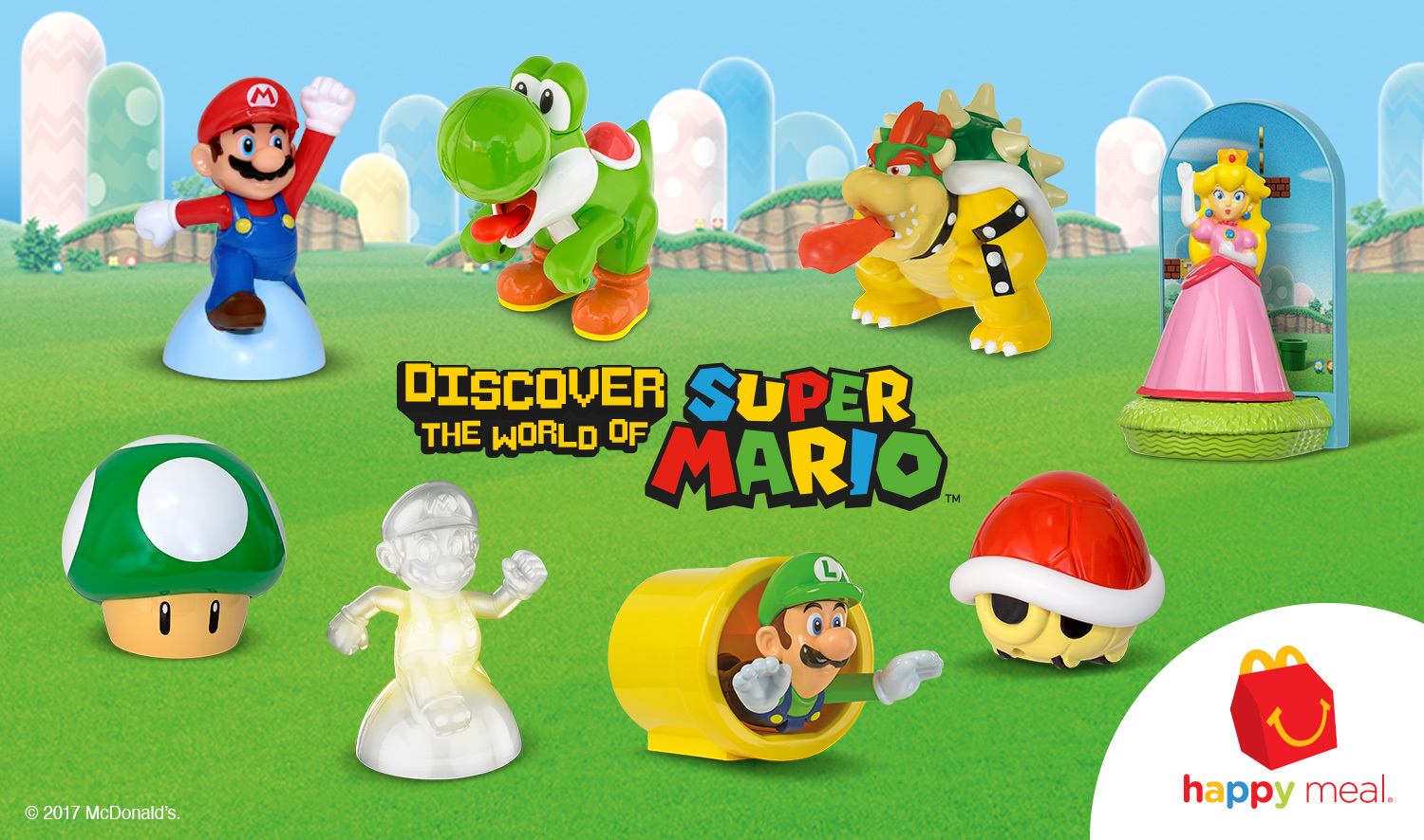 Mcdonald 39 s offering mario happy meals again shacknews for Happy playsets