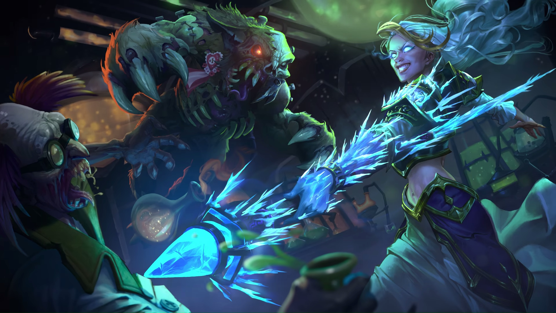 Knights Of The Frozen Throne Wallpaper: Hearthstone: Knights Of The Frozen Throne