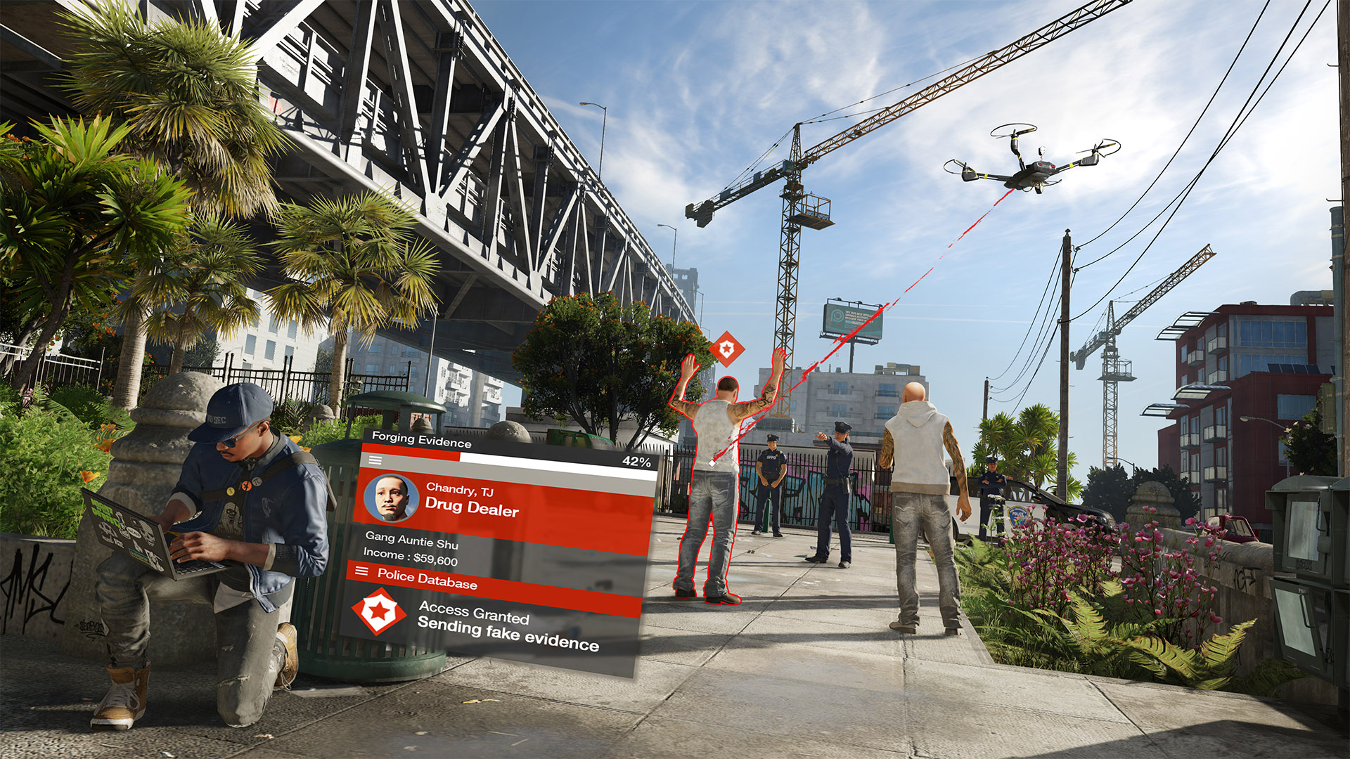 The PC version of Watch Dogs 2 shows gains of 20% or more when comparing a 4-thread CPU to an 8-thread CPU
