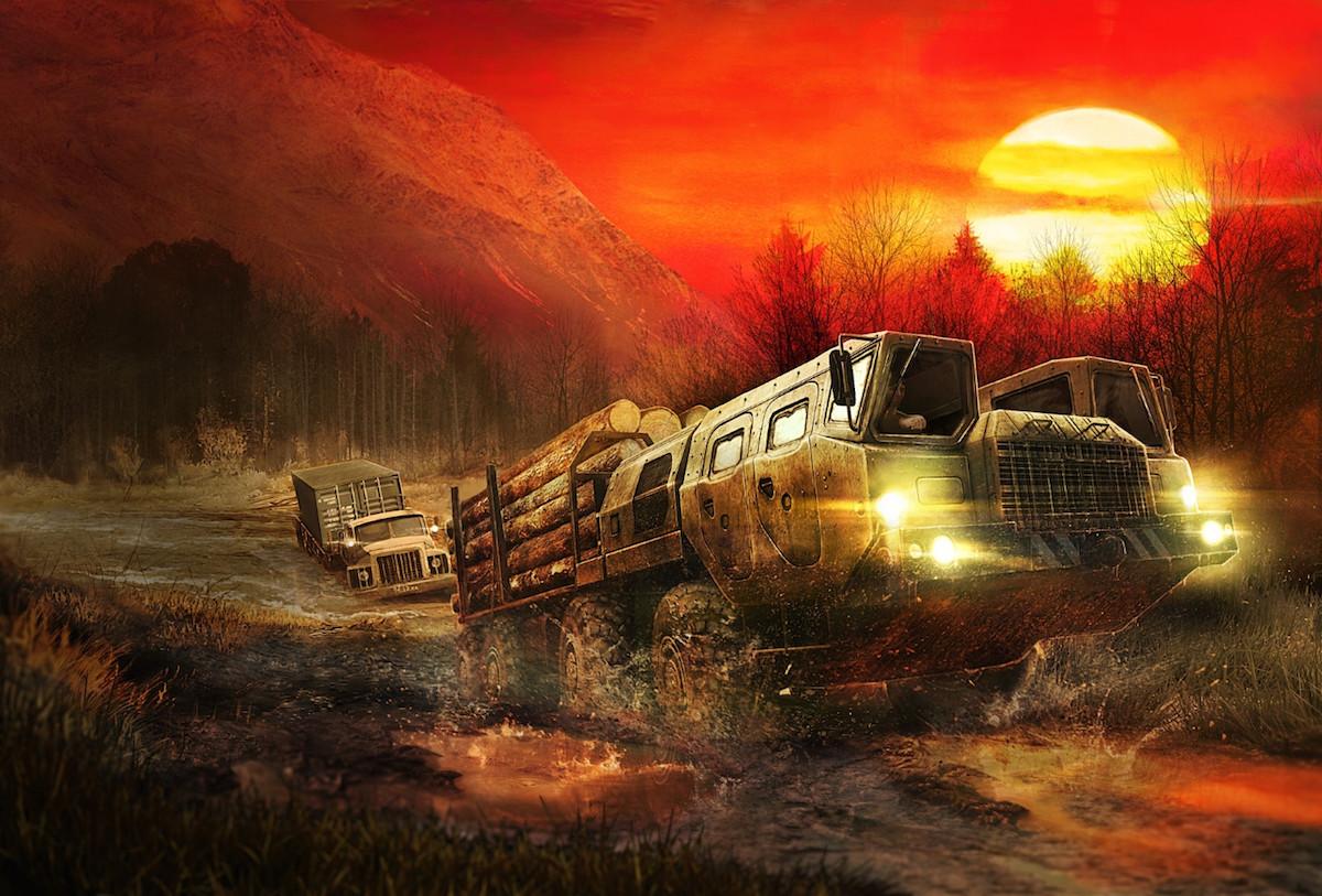 Spintires MudRunner Reveal Trailer