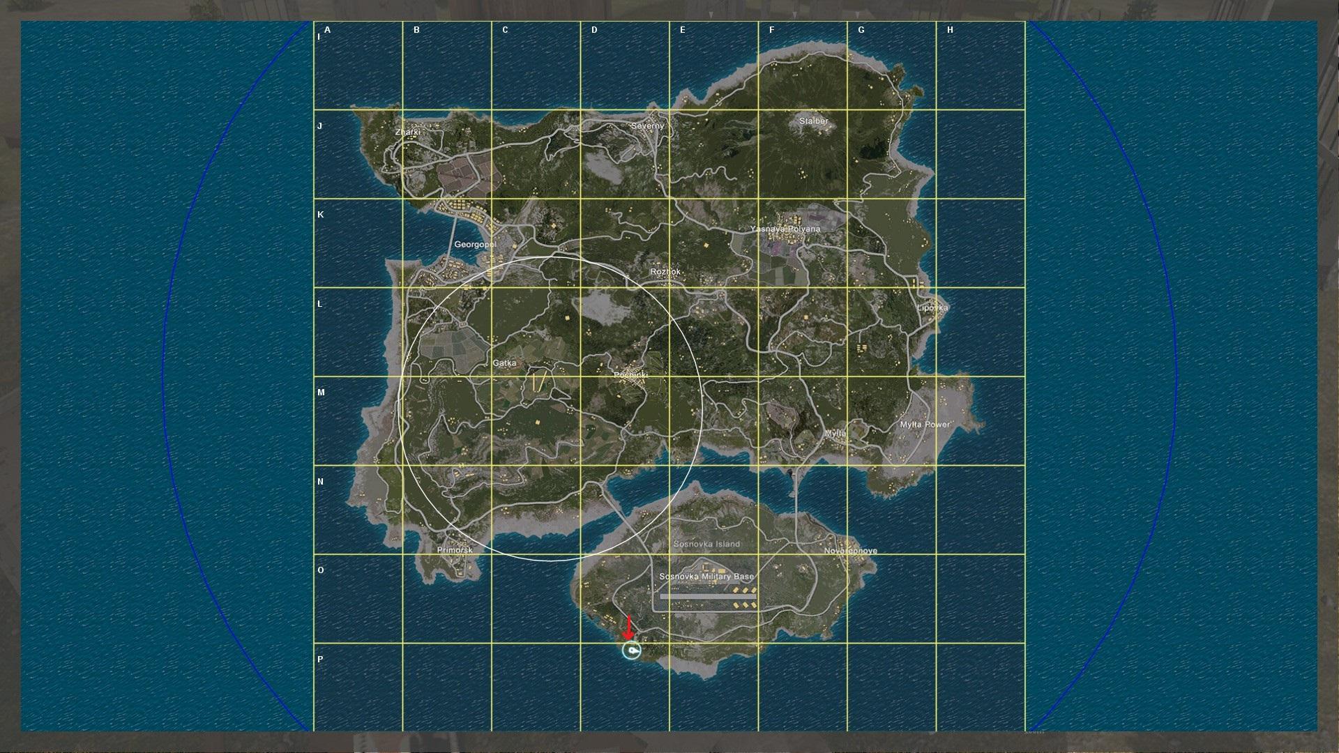 Original Island Map