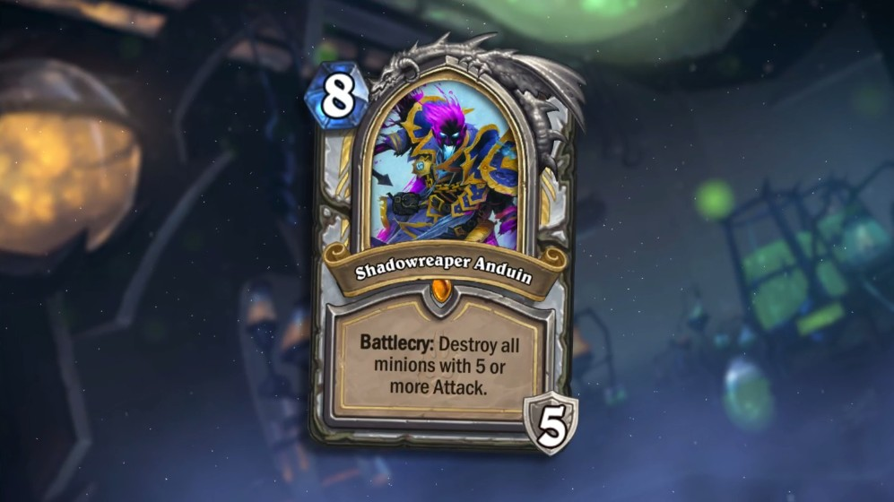 Hearthstone Knights of the Frozen Throne Expansion coming next week
