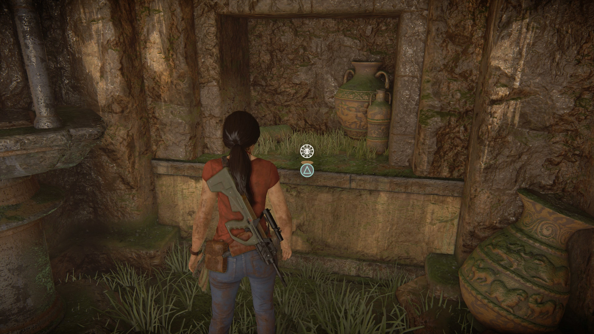 how to solve the.horse.puzxel in uncharted 5