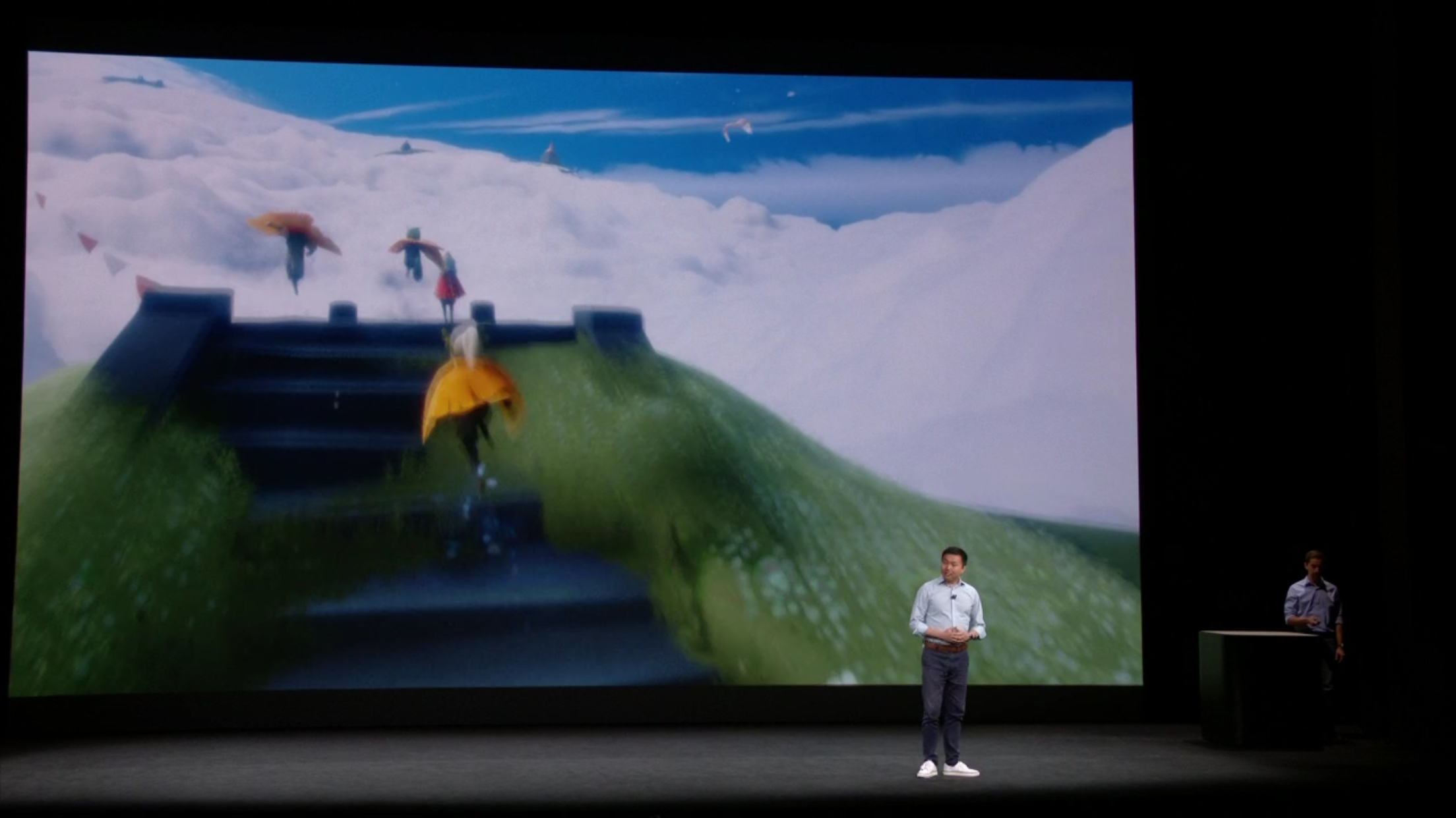 That Game Company Announces New Game 'Sky' on the Apple Stage