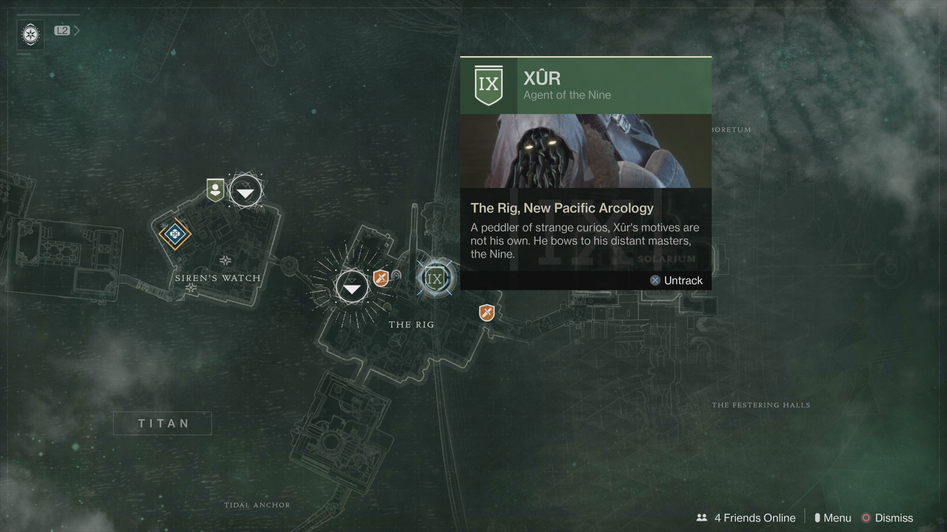 Destiny 2 - Where is Xur this week?