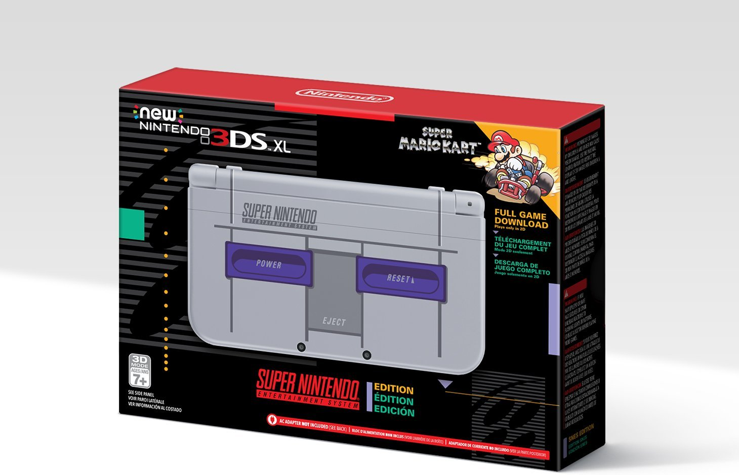 amazon reveals exclusive snes classic edition 3ds xl shacknews. Black Bedroom Furniture Sets. Home Design Ideas