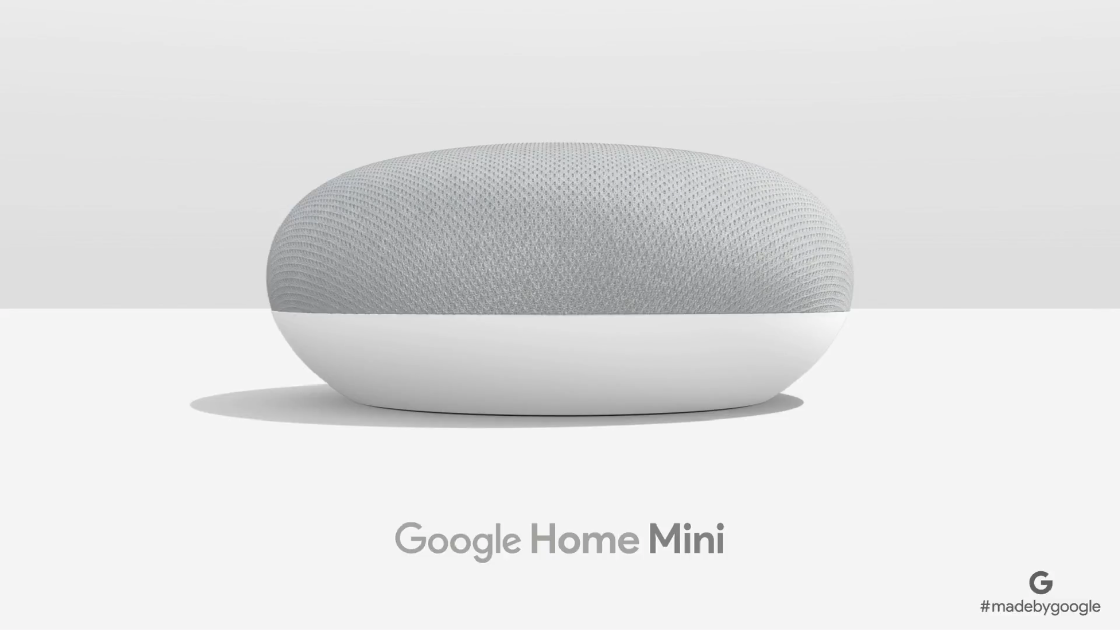 Google Home Decor Google Reveals New Home Mini Poweredgoogle Assistant