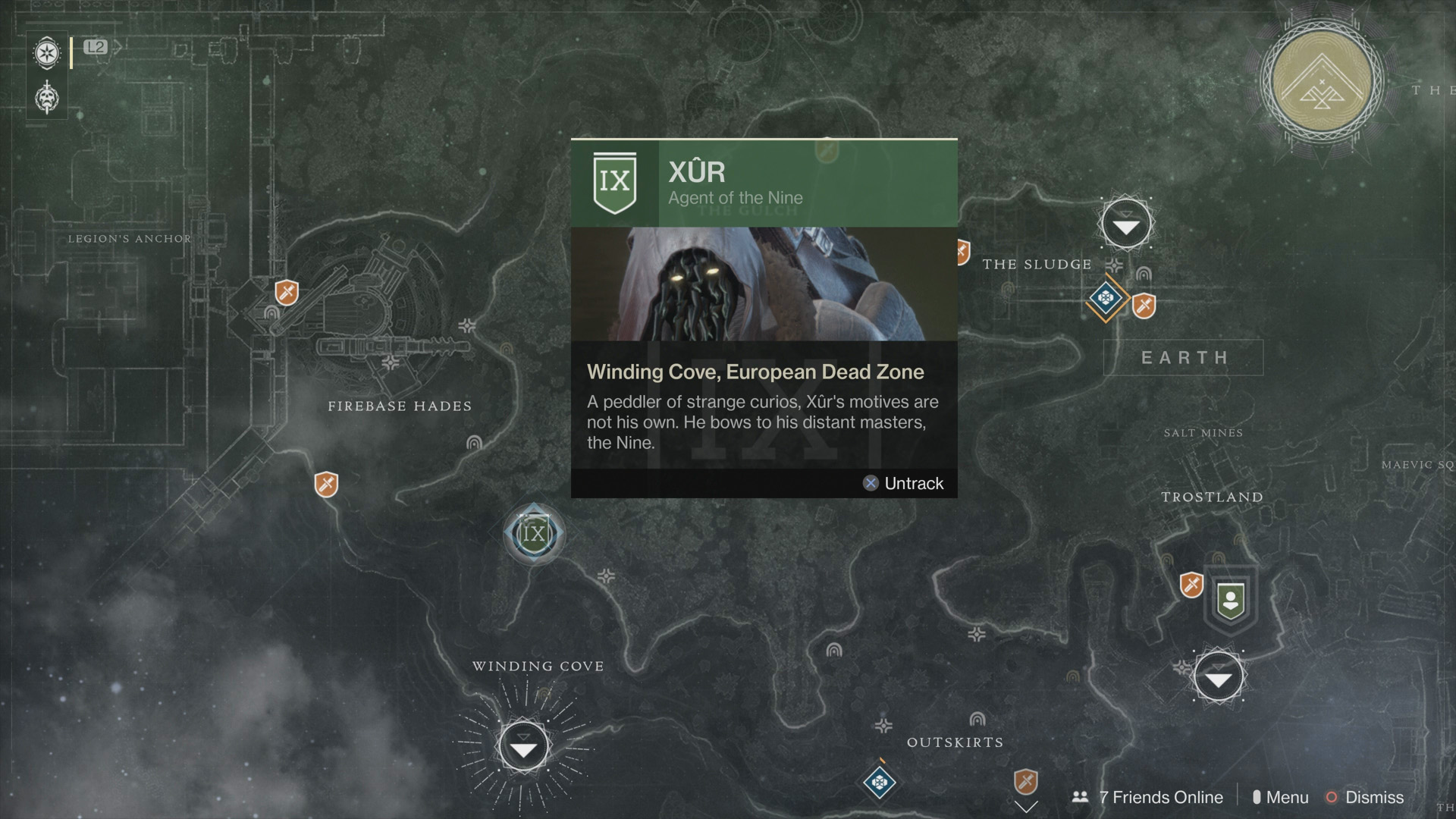 Destiny 2: Xur location and Inventory for Week 4