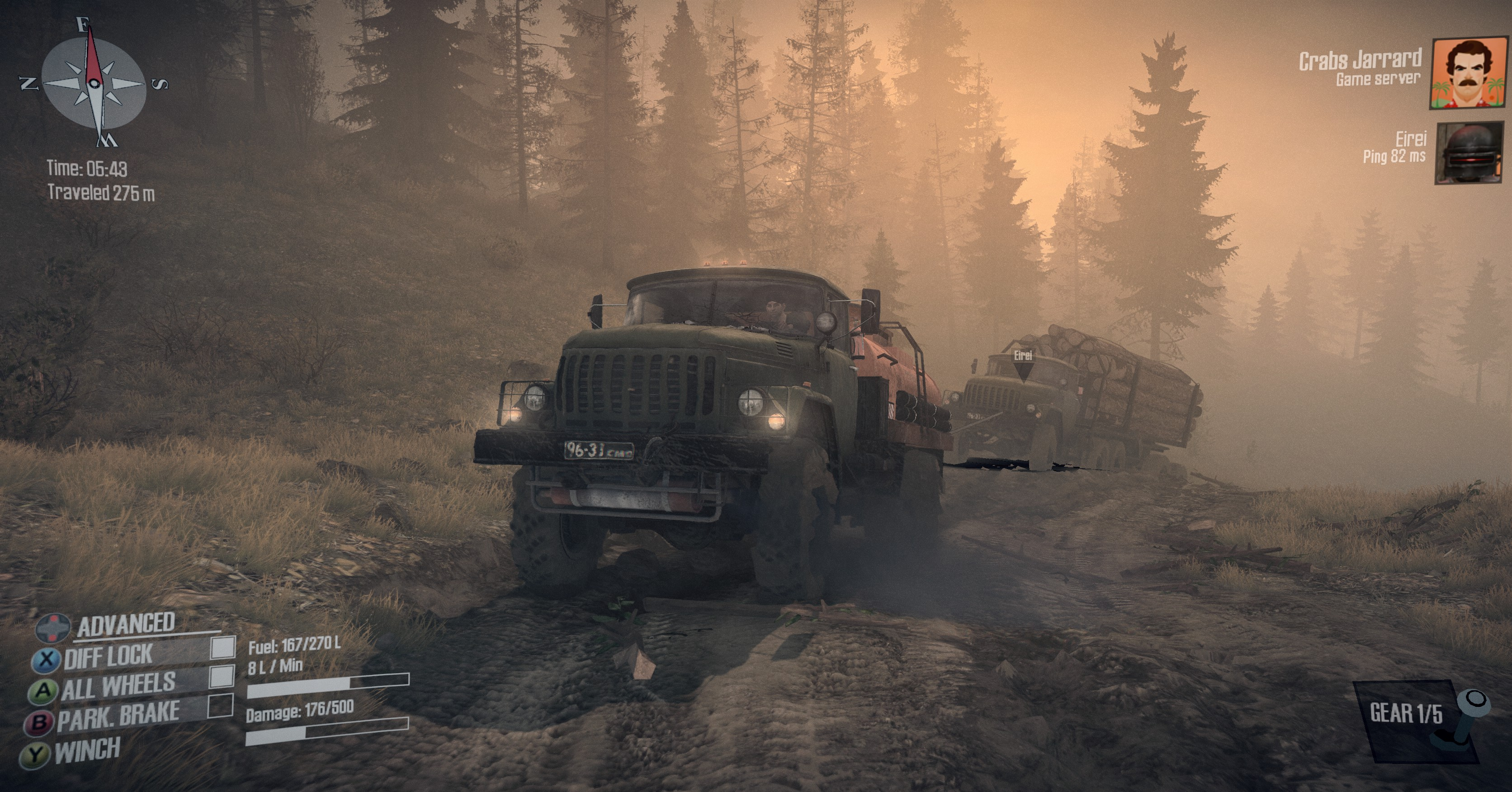 Spintires: Mudrunner Review: A Light In the Darkness ...