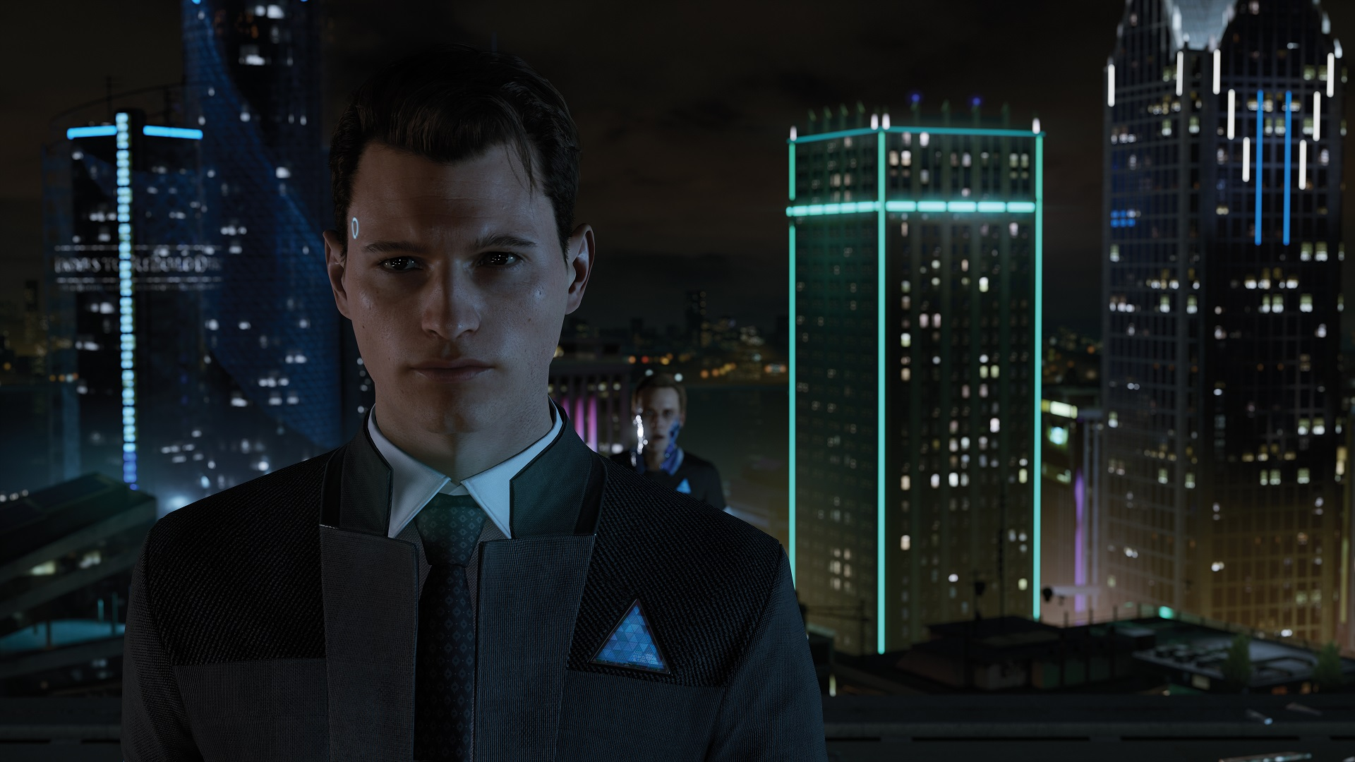 Detroit Become Human Connor Wallpaper: Detroit: Become Human PSX 2017 Preview: Hello World