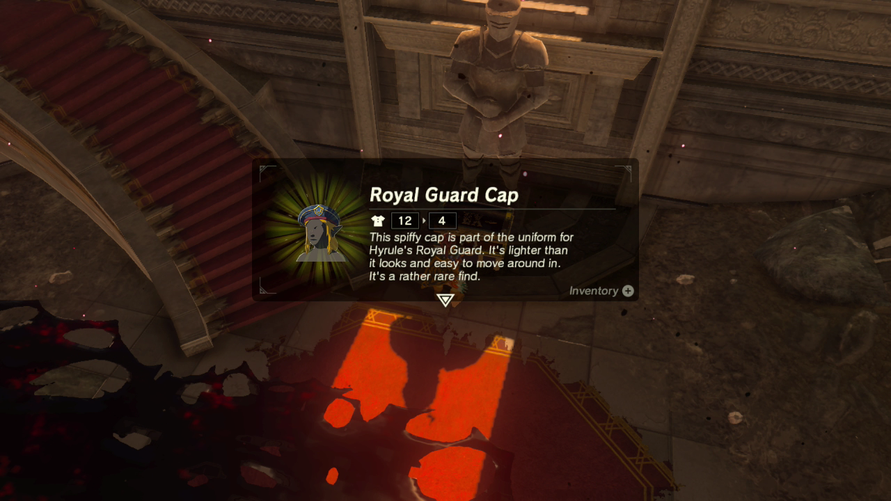 Where To Find The New Royal Guard Uniform In Breath of the
