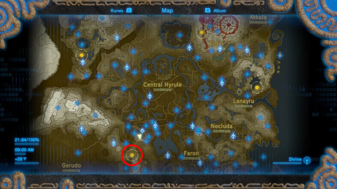 botw how to get back on vah medoh